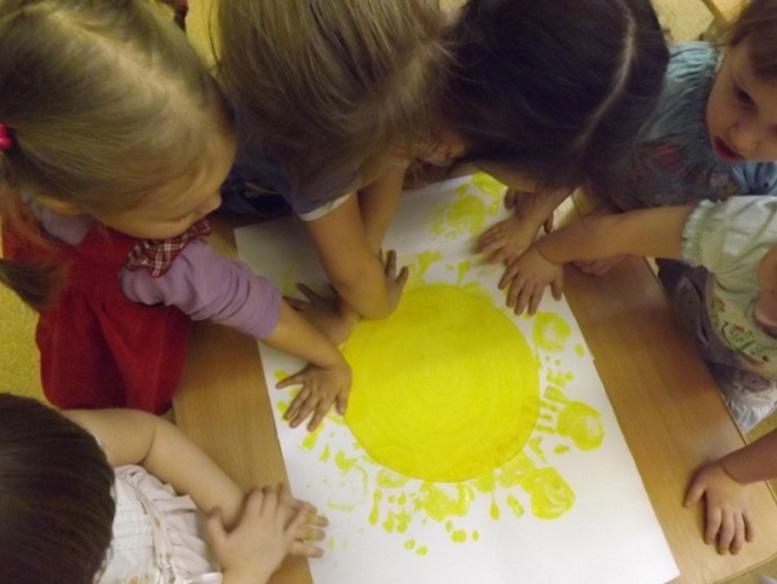 Дети рисуют нетрадиционно